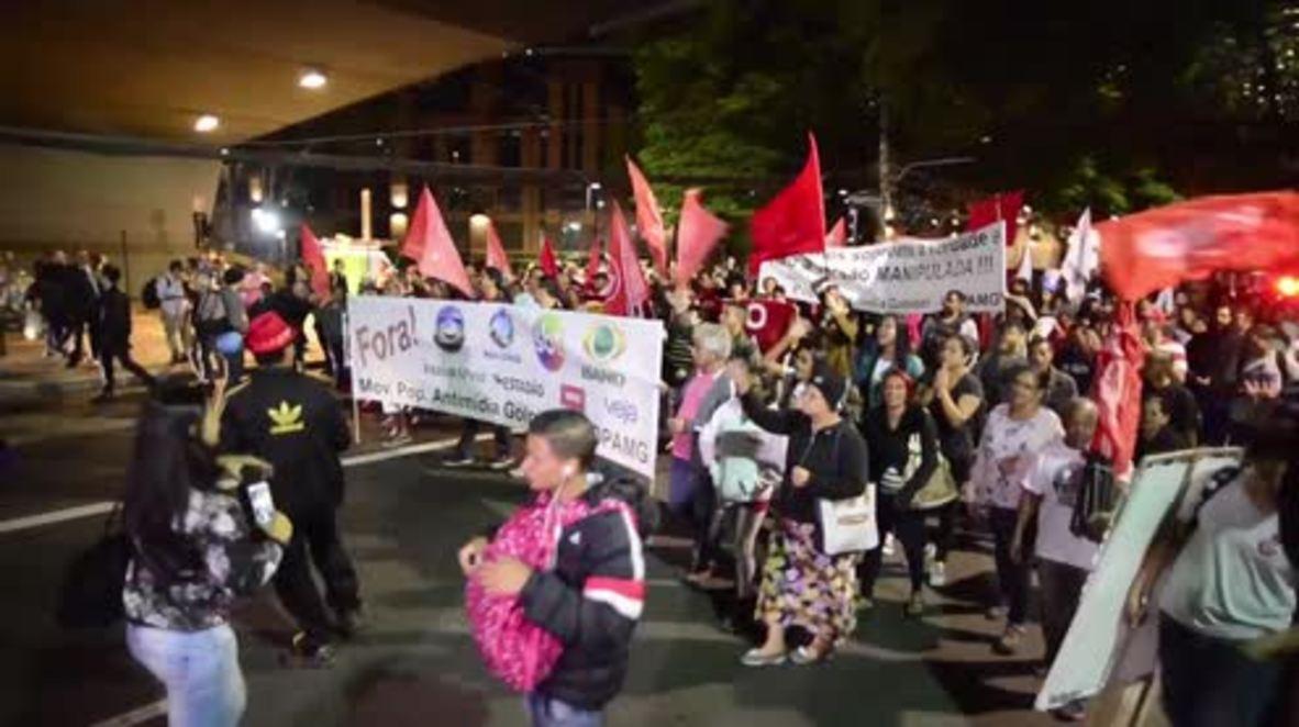 Brazil: 'Free Lula!' - protesters demand at Sao Paulo rally