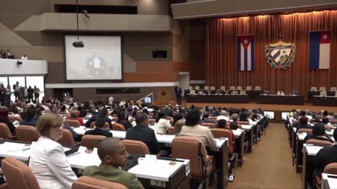 Cuba: La Asamblea Nacional de La Habana vota por el sucesor del presidente Raúl Castro