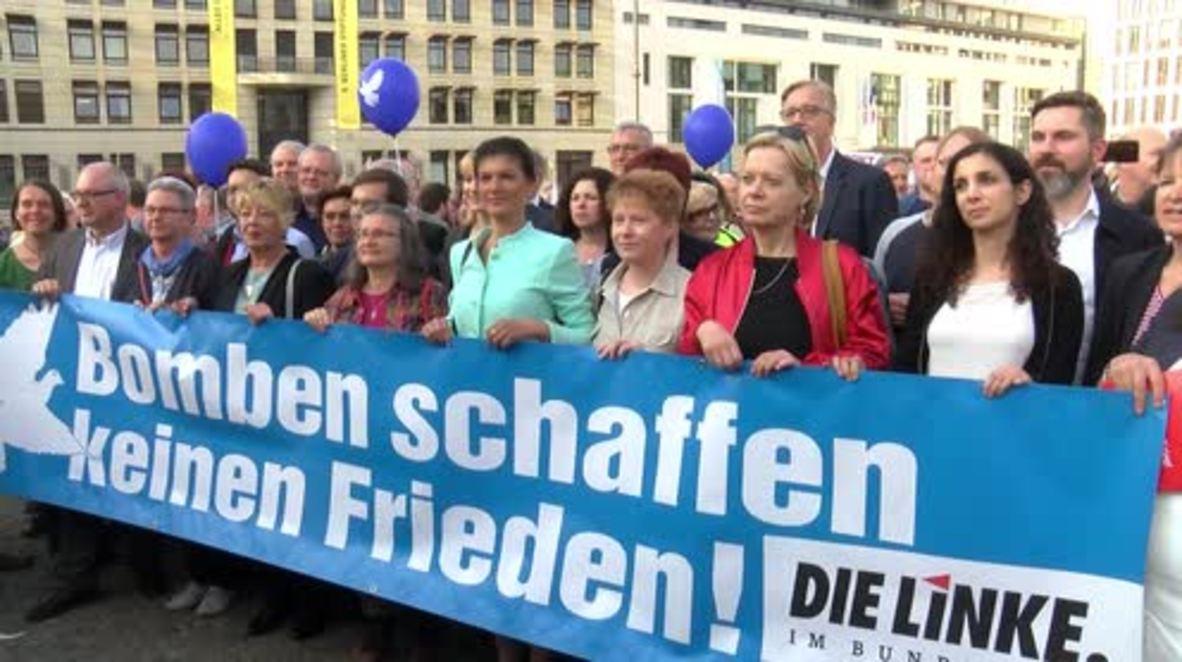 Germany: Die Linke condemns airstrikes against Syria