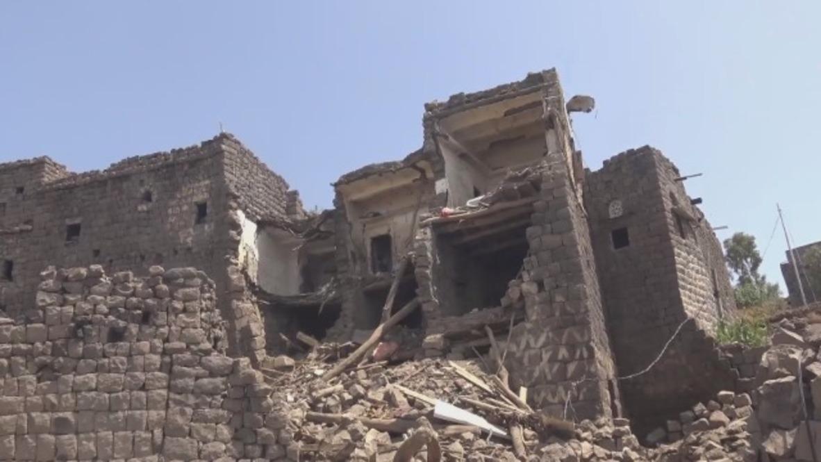 Yemen: Víctimas civiles y daños materiales tras los ataques aéreos saudíes en la histórica ciudad de Jabal Masar
