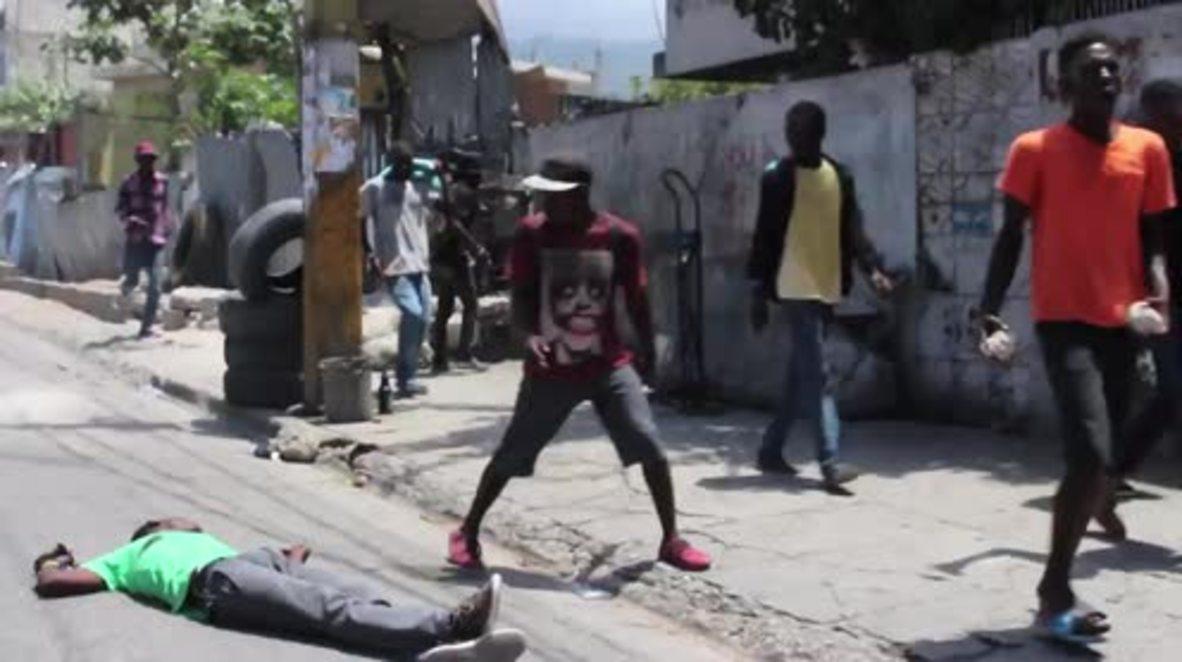 Haití: Un muerto tras enfrentamientos entre manifestantes antigubernamentales y la policía