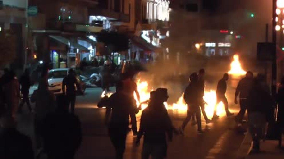 Greece: Right-wing extremists target Mytilene refugee protest camp