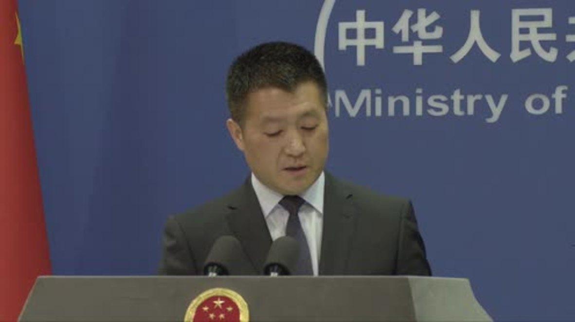 China: FM welcomes North Korea's missile halt promise
