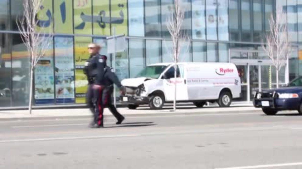 Canadá: La cifra de muertos aumenta a 10 tras el atropello mortal en Toronto