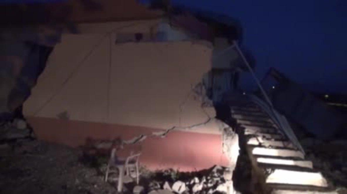 Turquía: Un terremoto deja al menos 39 heridos en el sudeste del país