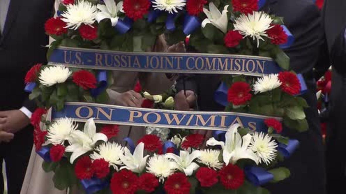 """EE.UU.: El embajador ruso pide un """"trabajo conjunto"""" con Estados Unidos"""