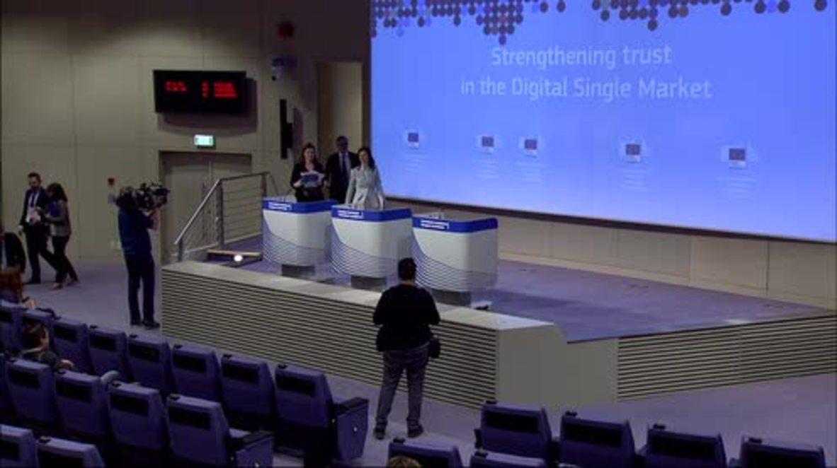 Belgium: EU Commission proposes Code of Practice on Disinformation