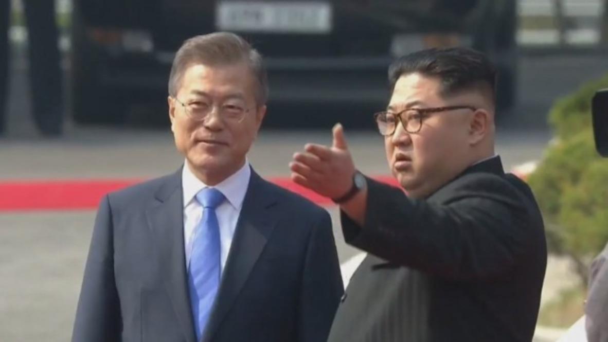Zona Desmilitarizada de Corea: Kim y Moon hacen historia en la cumbre intercoreana de Panmunjom