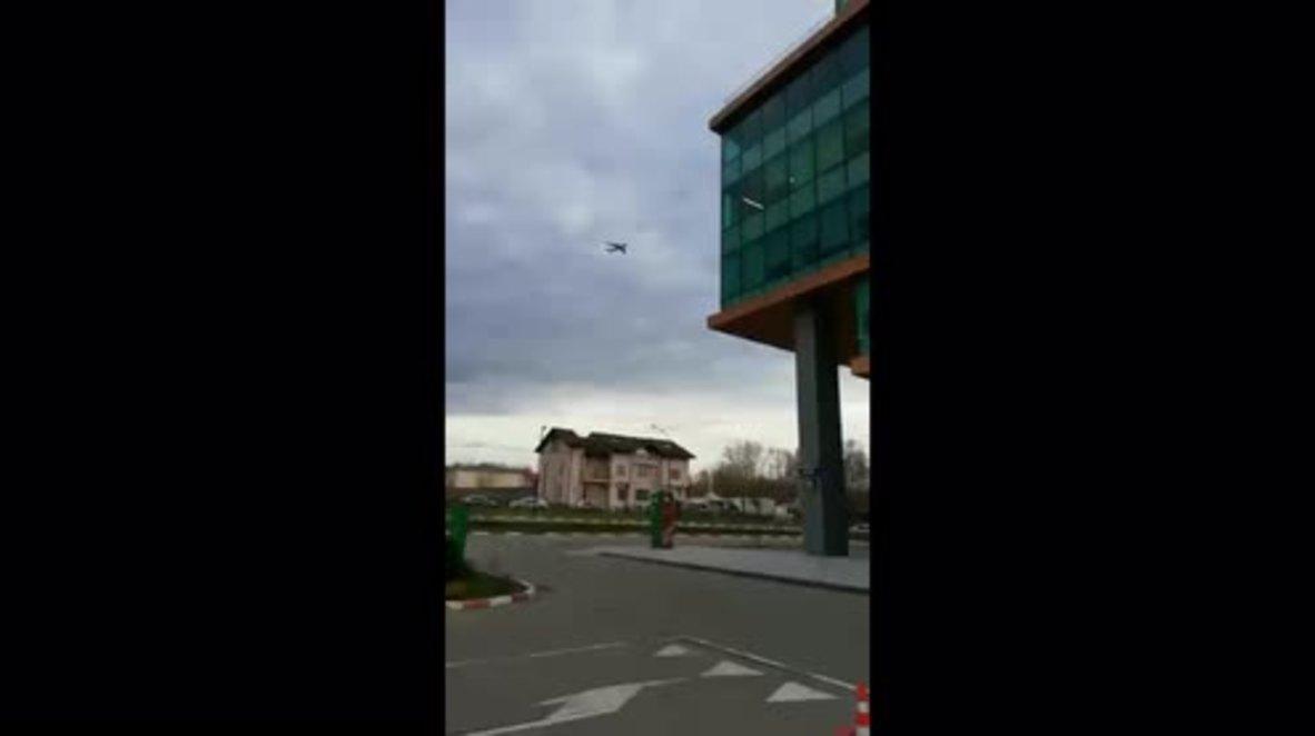Rusia: Avión militar indio realiza un aterrizaje de emergencia en Moscú