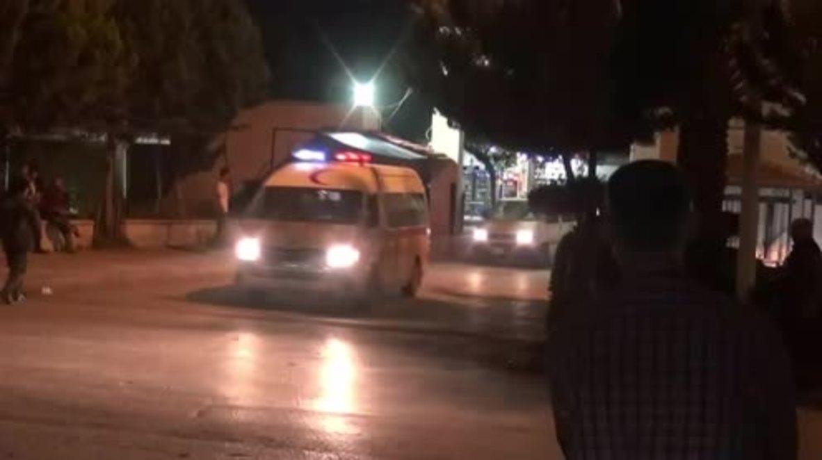 Siria: Hospital de Hama recibe víctimas de los ataques contra las bases militares en Hama y Alepo
