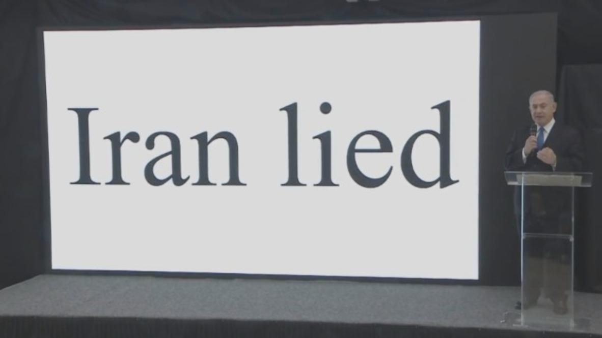 Israel: 'Iran lied' - Netanyahu takes on Tehran's 'secret nuclear weapon project'