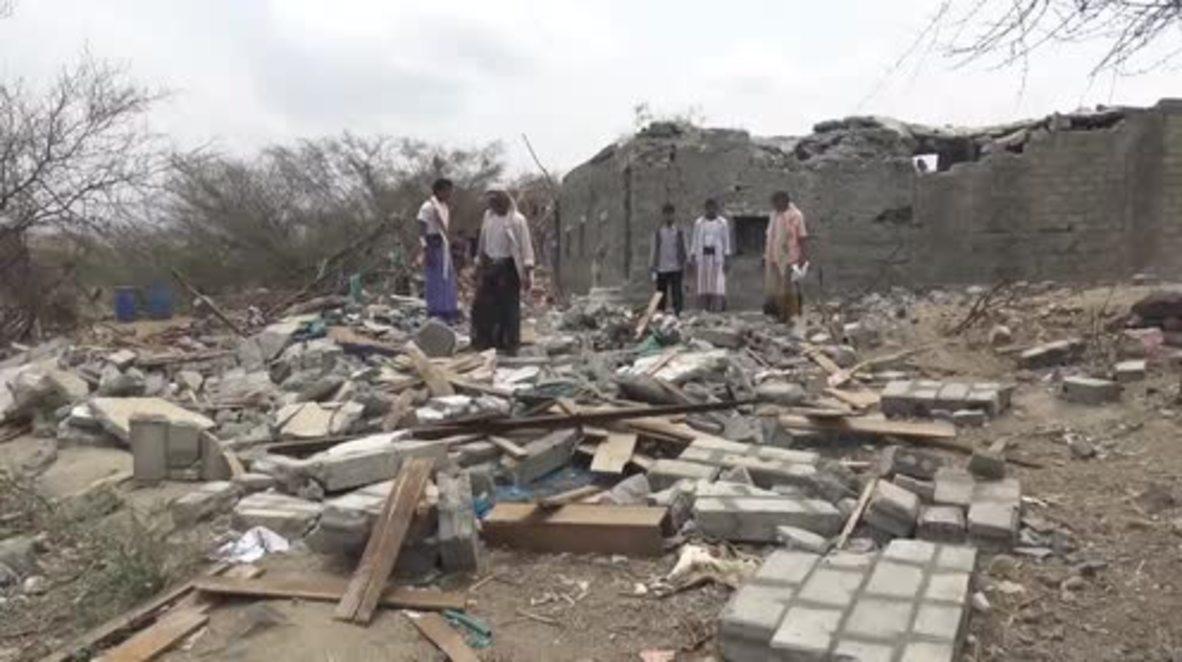 Yemen: Groom recalls horrific moment 20 killed in Saudi-led coalition airstrike on wedding