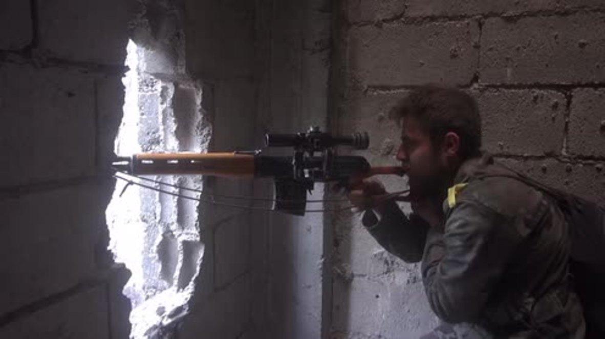 Siria: El Ejército Árabe Sirio continúa su avance en los campos de cultivo de al-Hajar al-Aswad, al sur de Damasco