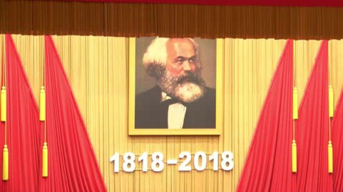 China: Xi Jinping conmemora el 200 aniversario del nacimiento de Karl Marx