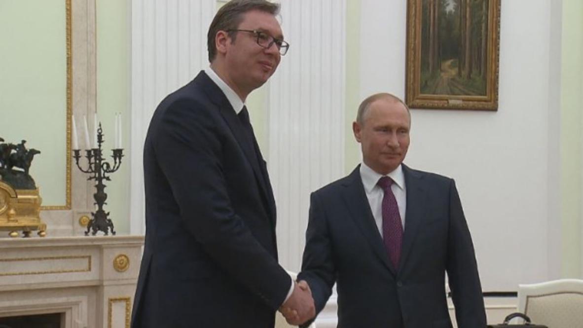 Russia: Serbia will remain outside NATO - Vucic to Putin