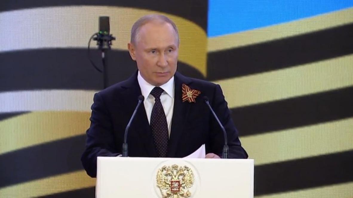 """Rusia: """"Nos inclinamos ante ustedes"""" - Putin a los veteranos durante el Día de la Victoria"""