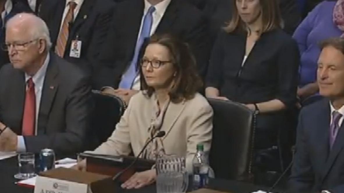 USA: CIA chief nominee Haspel vows not to restart interrogation prog.
