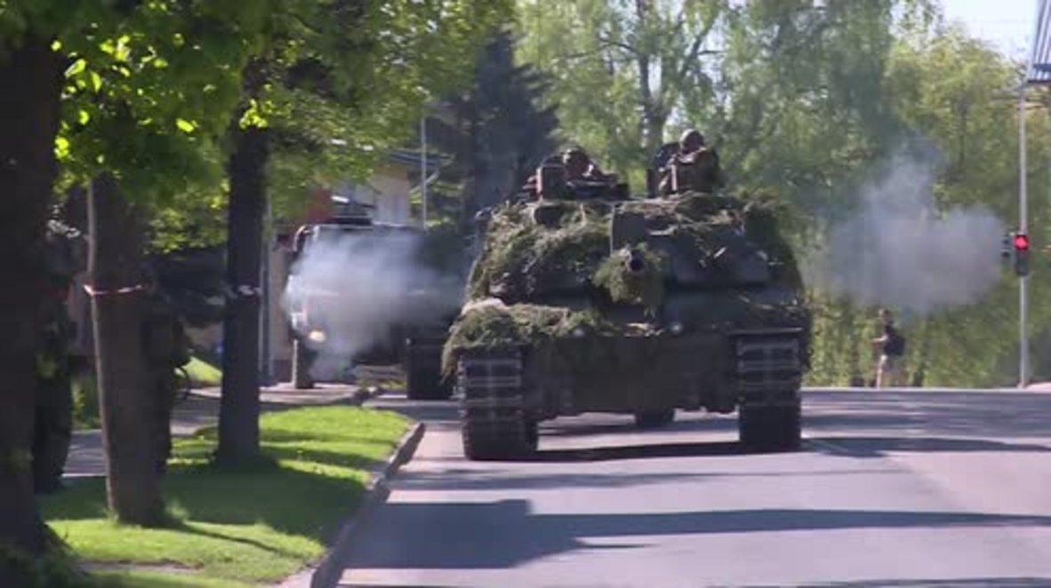 Estonia: 15,000 empleados del servicio militar participan en los simulacros Siil 2018