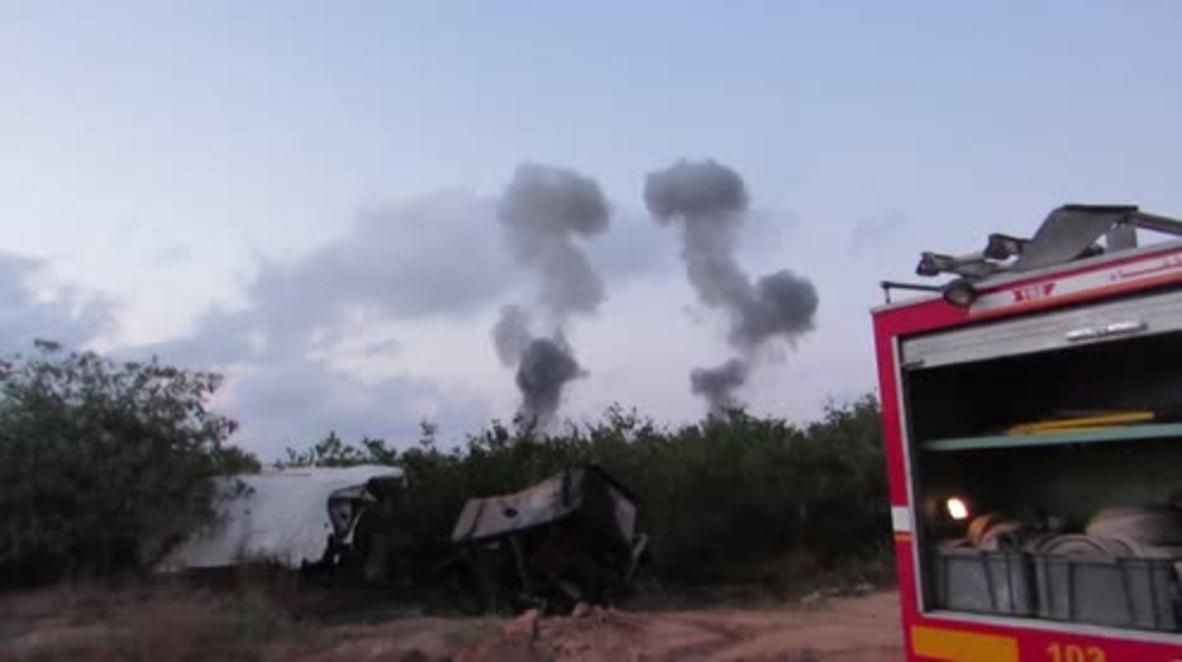 State of Palestine: Northern Gaza Strip hit by series of Israeli airstrikes