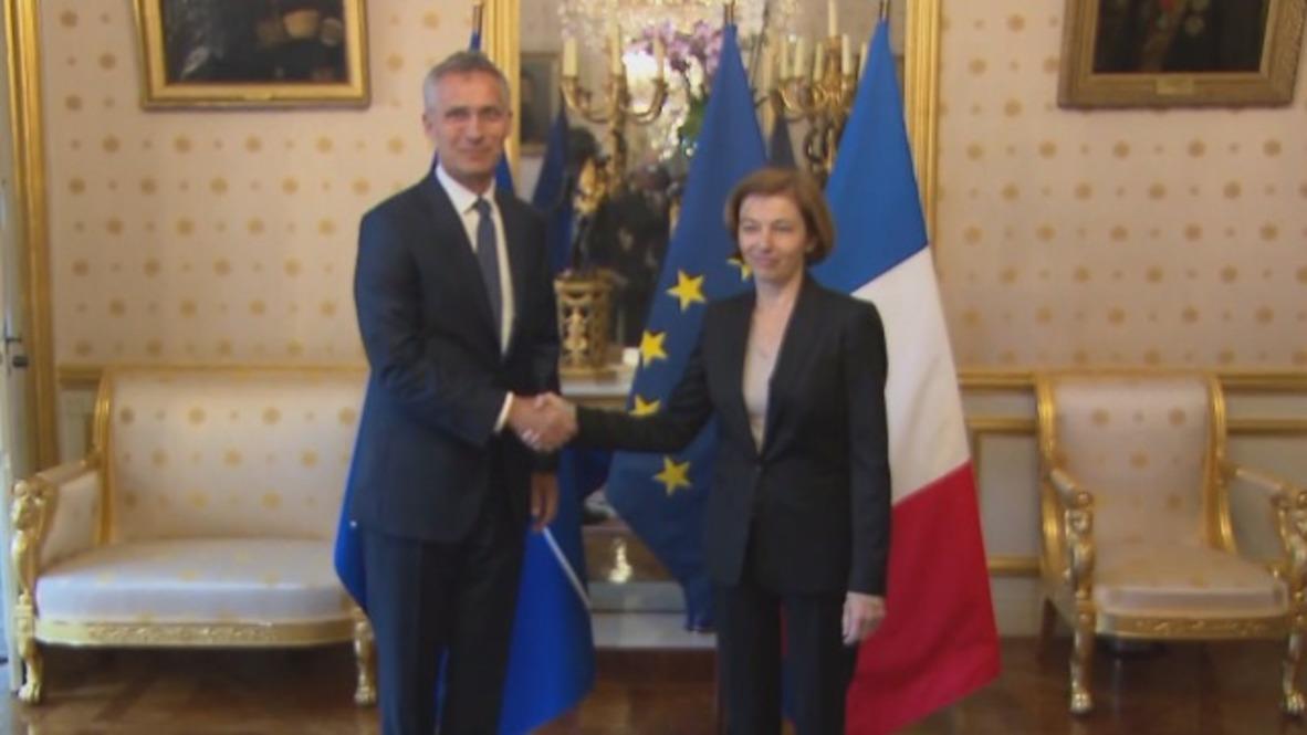 France: US steps up military presence in Europe - NATO Sec-Gen. Stoltenberg