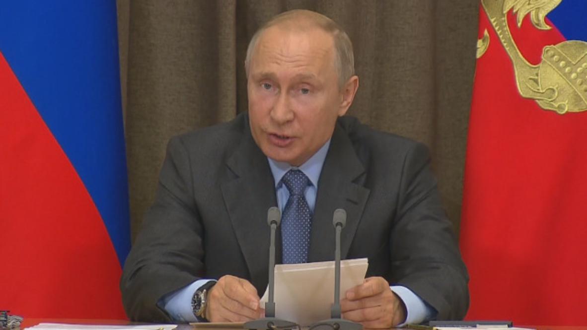 Rusia: Los barcos con misiles de crucero Kalibr llevarán a cabo un patrullaje permanente en el mar Mediterráneo - Putin
