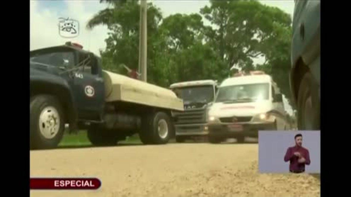 Cuba: Three survivors enter 'reanimation process' as President visits crash site