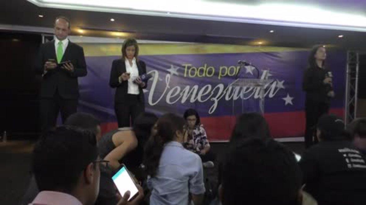 Venezuela: Presidential candidate Falcon denounces Maduro's victory
