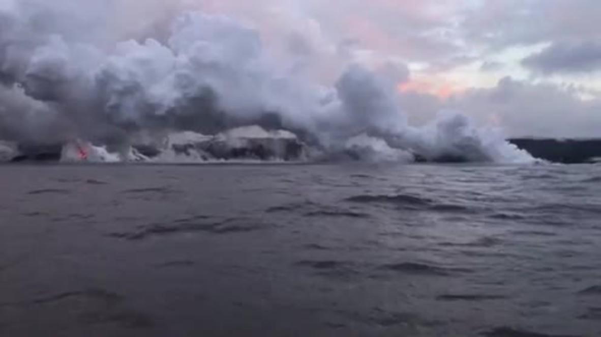 EE.UU.: Enormes erupciones volcánicas crean laze altamente tóxico en Hawaii