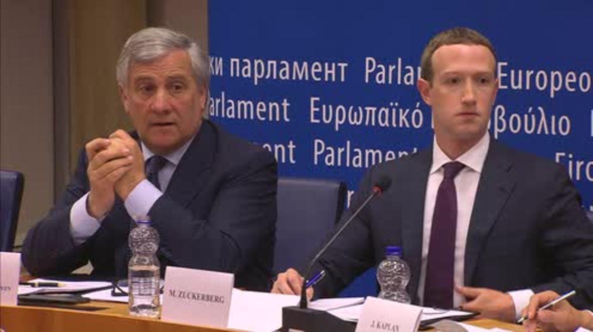 Belgium: Farage thanks Facebook's Zuckerberg for Brexit, Trump and Italy
