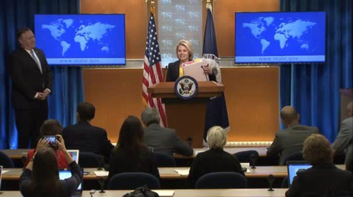 EE.UU.: Pompeo reitera sus comentarios sobre supuestos asesinatos de fuerzas especiales iraníes en Europa