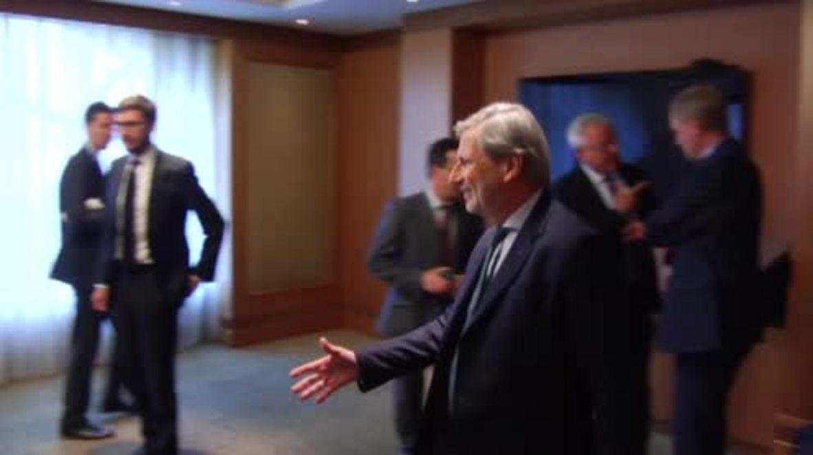 Ukraine: EU Commissioner for Enlargement supports reforms in Kiev