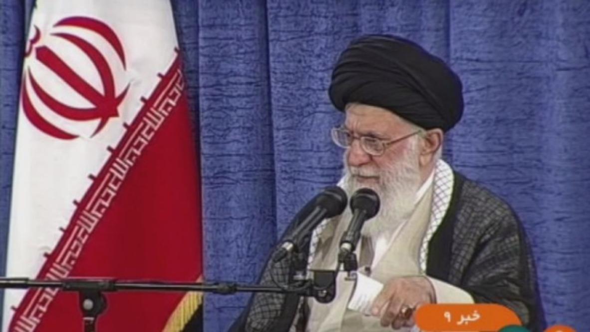 Irán: Jamenei exige garantías a los países europeos para mantener en vigor el acuerdo nuclear