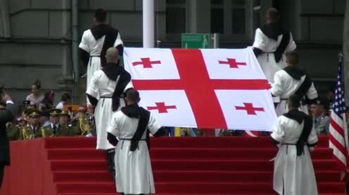 Georgia: Tbilisi celebrates centenary of independence