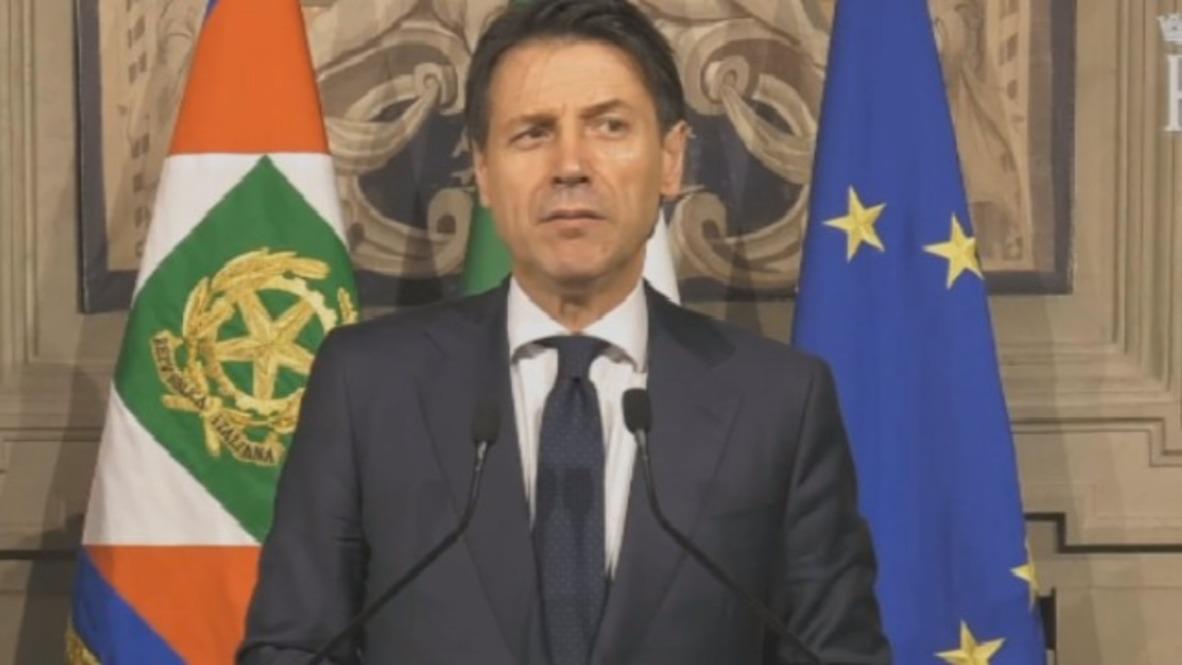 Italia: Conte renuncia al mandato de primer ministro