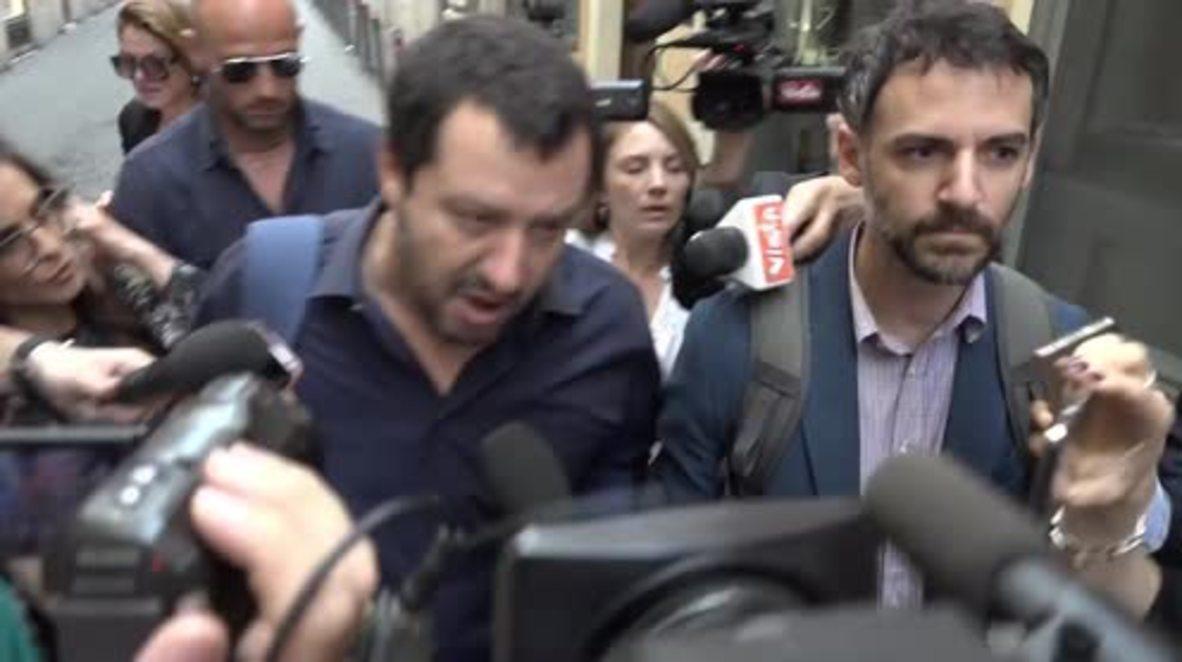Italy: 'I'm pissed off' rages League leader Salvini