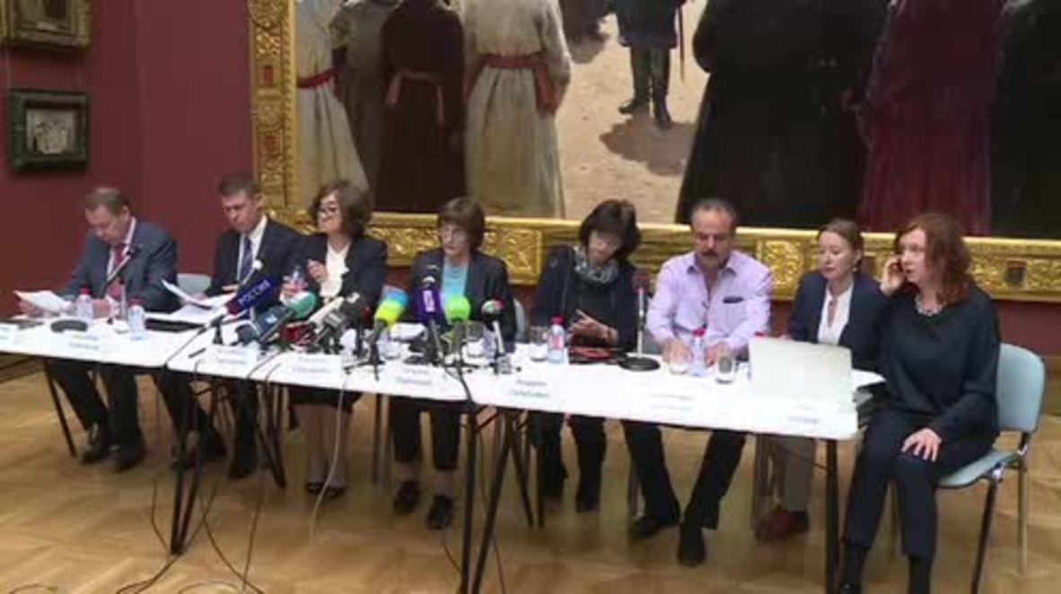 Rusia: Galería Tretyakov protegerá el cuadro de 'Iván el Terrible' con un vidrio reforzado