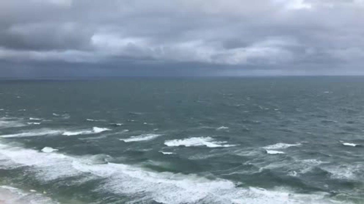 USA: Storm Alberto makes landfall in Florida as 2 reporters killed