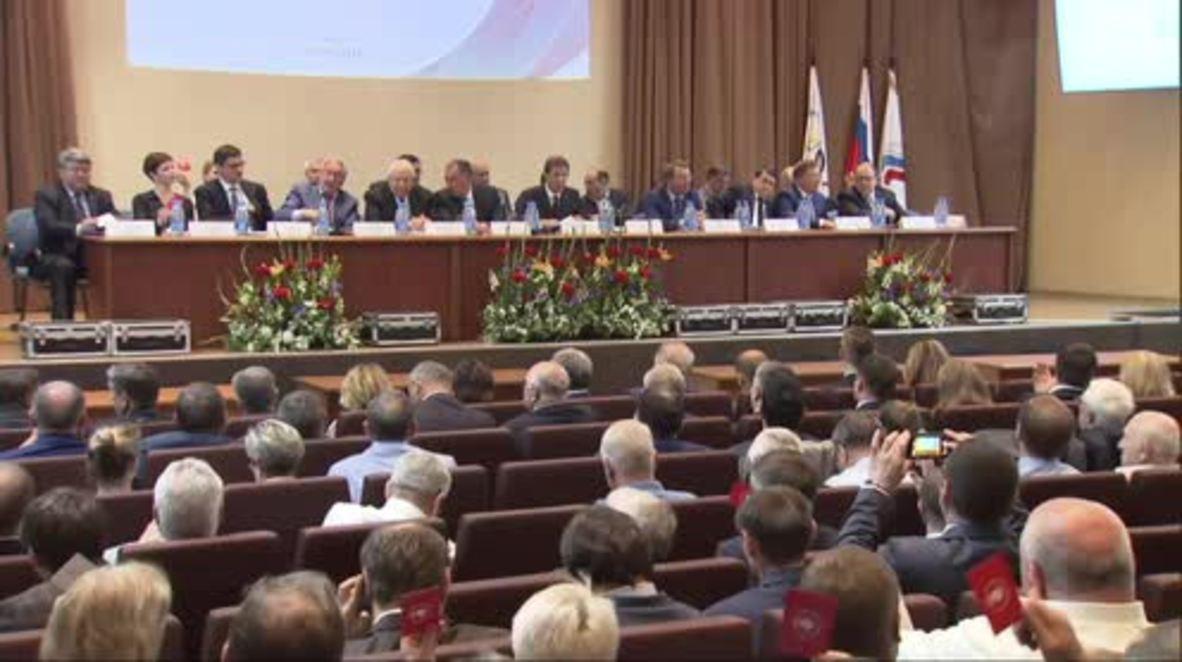 Russia: Stanislav Pozdnyakov chosen as new Olympic chief