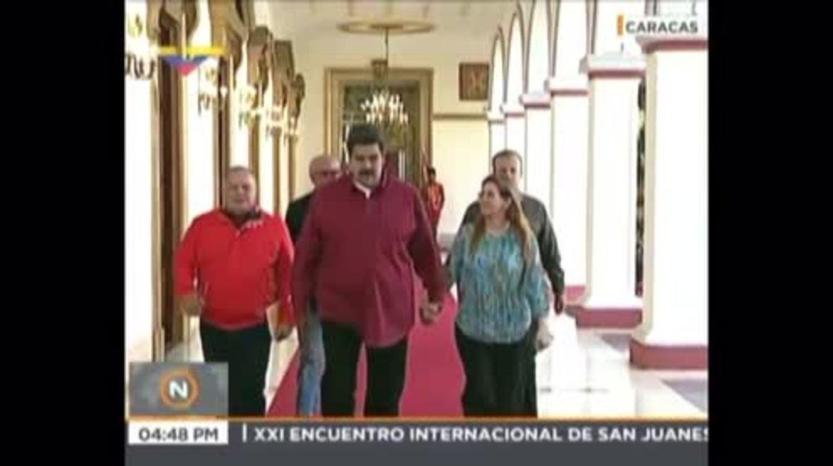 Venezuela: Maduro anuncia la liberación de 39 opositores