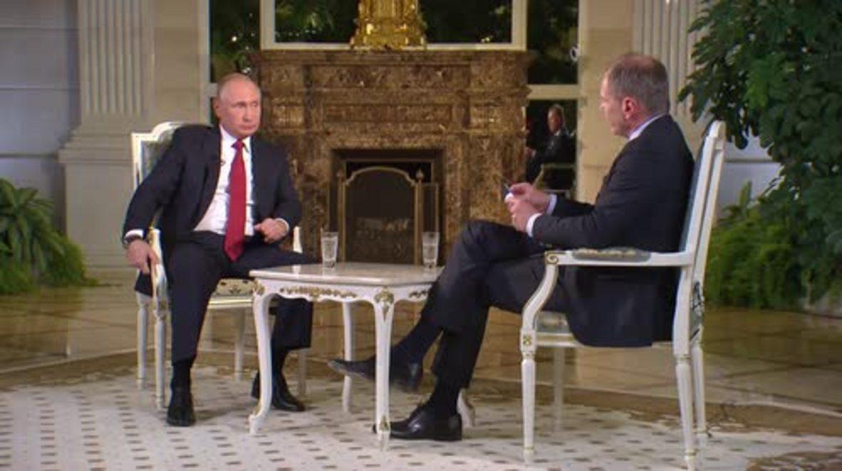 Russia: Putin pressed on MH17, Crimea and Ukraine