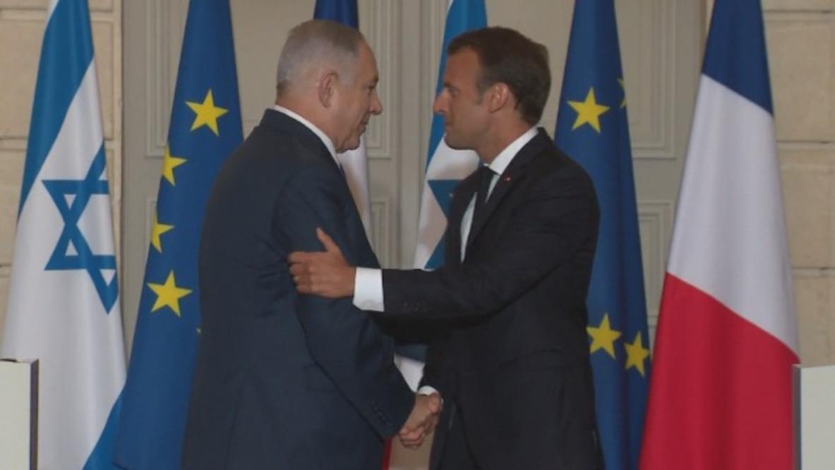 France: Netanyahu, Macron clash over Iran deal