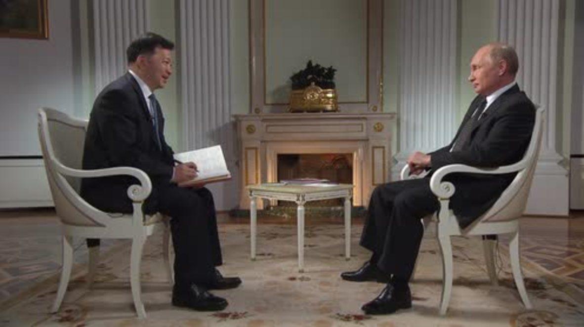 """Rusia: El """"superpresidente"""" Putin reflexiona sobre la vida, el trabajo y el Mundial"""