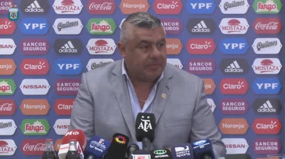 España: Argentina pide perdón por la cancelación del amistoso frente a Israel