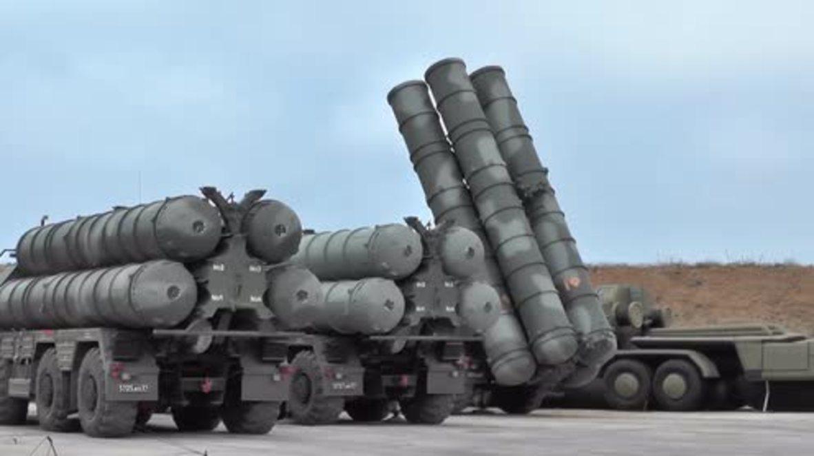 Russia: S-400 Triumph anti-missile system drills held in Crimea