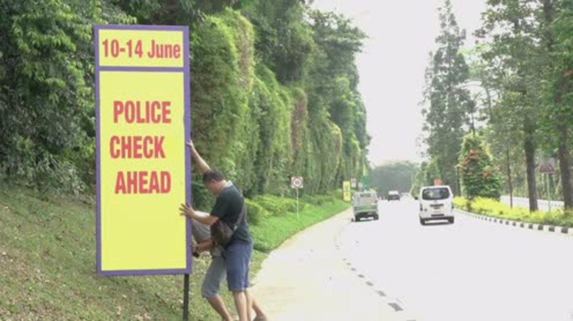 Singapore: Security ramped up in Sentosa ahead of Trump-Kim summit