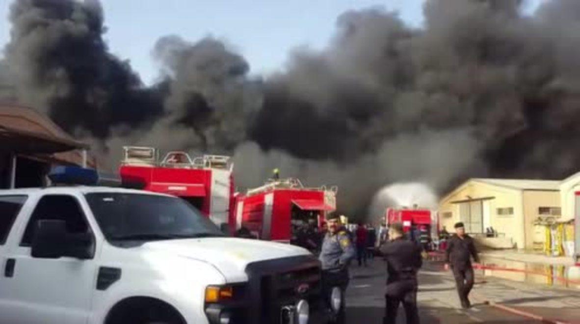 Iraq: Fire hits ballot warehouse ahead of vote recount