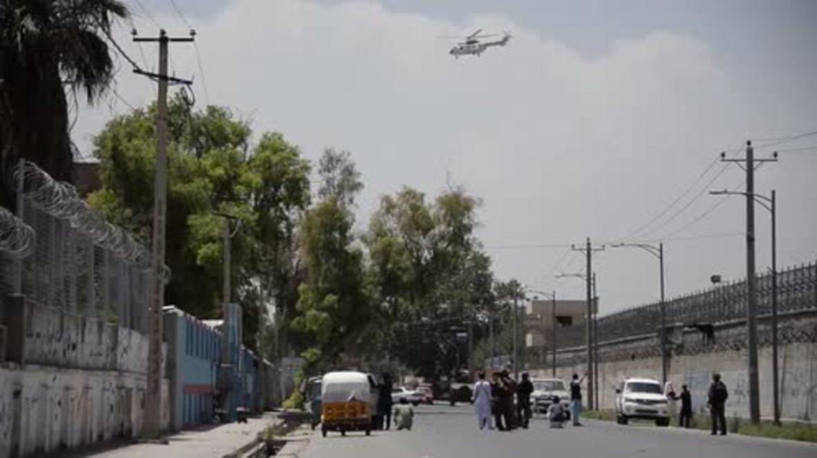 Afghanistan: Five killed after suicide blast rocks Jalalabad *GRAPHIC*
