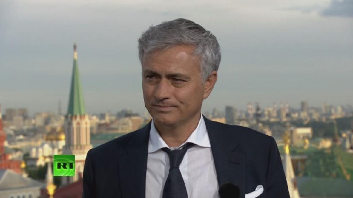Russia: Mourinho predicts 'fantastic' Portugal-Spain clash