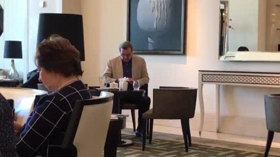 Rusia: Zlatan, Schroeder y Sarkozy juntos en un hotel de Moscú