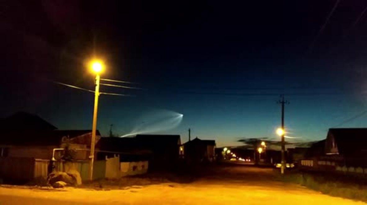 'It's something weird!' – stunned onlookers observe strange object streaking across night sky